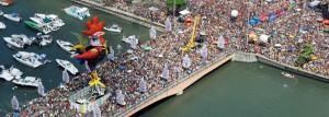 Straat carnaval in Recife